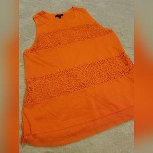 💘 J. Crew Orange Cotton Tank